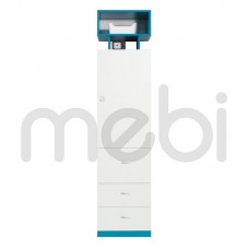 Шкаф Mobi Meblar 45х195x40 (MOBI_4) 006145