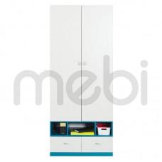 Шкаф Mobi Meblar 80х195x50 (MOBI_2) 002402