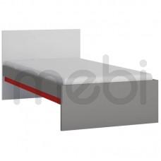 Кровать Laser Meble Wójcik 96х80.5x206.1 (LASZ01) 002708