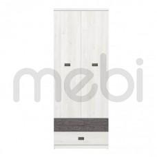 Шкаф Namur Meble Gust 80х203x57 (Nam_SZF2D2S) 004939