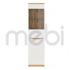 Витрина Nuis Meble Gust 50х197.5x39.5 (NUIS_REG1D1W) 006331
