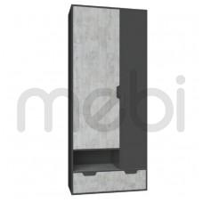Шкаф Nano Meblar 80х195x50 (NANO_2) 006555