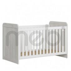 Кроватка Luca Baby Black Red White 76х90.5x145 (S356-LOZ/140X70) 036809