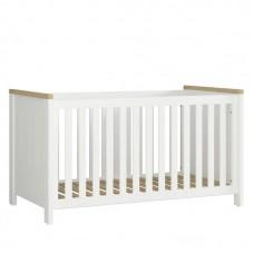 Дети Кроватка Dreviso Baby Black Red White 80.5х82.5x146 (S378-LOZ/140X70) 037114
