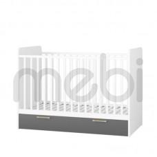 Кроватка Picolo Szynaka Meble 76х102x145 (PICOLO_14) 061390