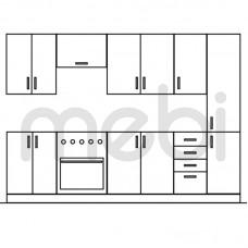 280 Кухня Gała Meble Gała Meble 280хx (KGM_ZES_280) 066118
